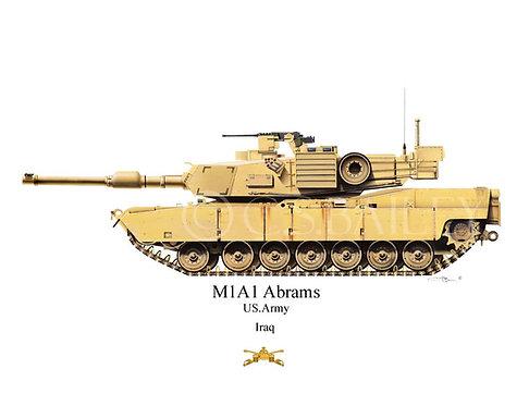 M1A1 Abrams army
