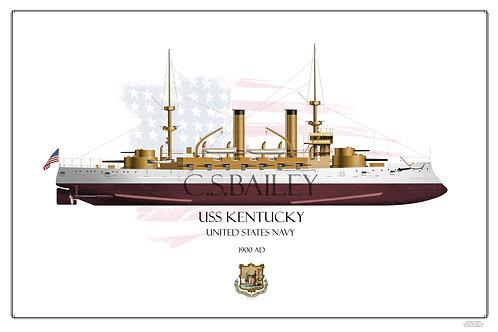 USS Kentucky FH BB-6