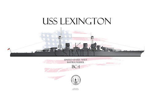 USS Lexington CC-1 1923