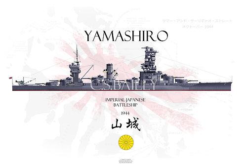 IJN Yamashiro WL t-shirt