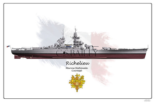 Richelieu Early FH Print