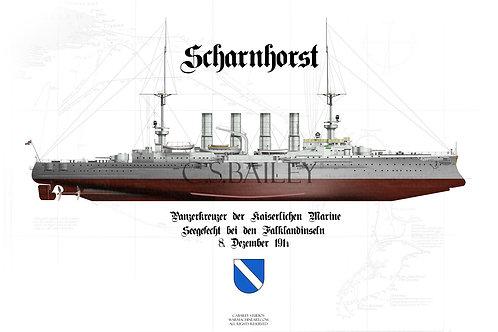 SMS Scharnhorst FH t-shirt