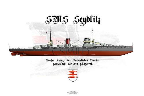 SMS Seydlitz FH Post Jutland Special Edition
