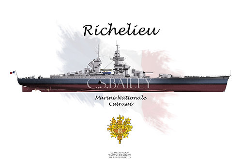Richelieu MS 22 FH t-shirt