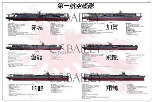 Kido Butai Pearl Harbor Strike Force Print