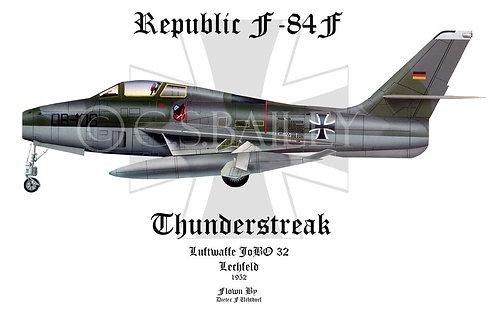 F-84 Thunderjet Profile