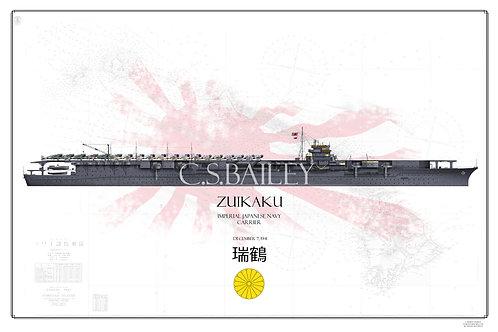 IJN Zuikaku Pearl Harbor Raid WL Print