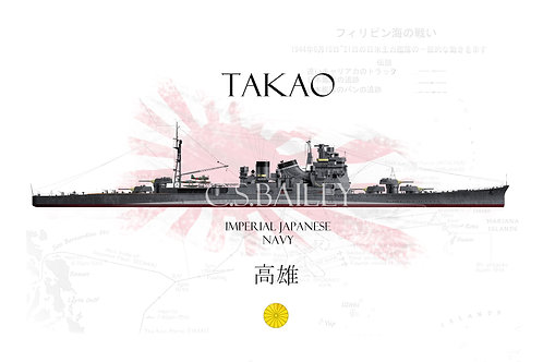 IJN Takao WL t-shirt