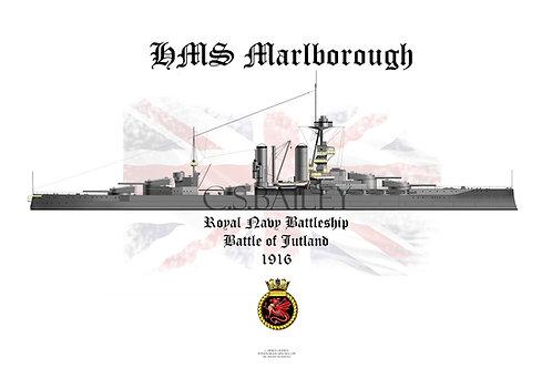 HMS Marlborough t-shirt