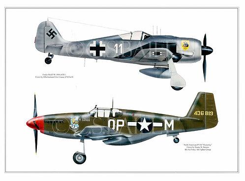 Adversary Profile 2  Focke Wulf vs Mustang