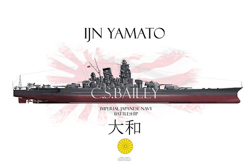 IJN Yamato FH t-shirt