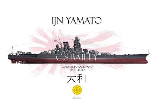 1a511e754 Yamato (大和) was the lead ship of the Yamato class of Imperial Japanese Navy World  War II battleships. She and her sister ship, Musashi, were the heaviest ...