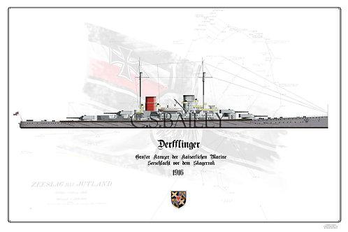 SMS Derfflinger WL print