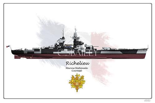 Richelieu Dazzle Geo FH print