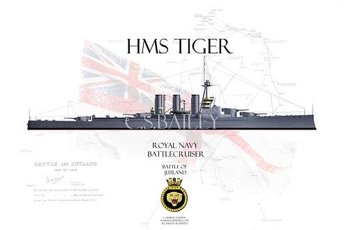 HMS Tiger WL T-shirt
