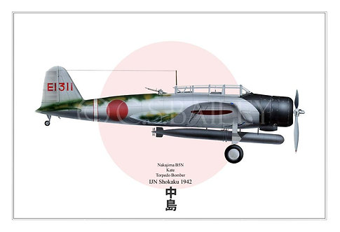 Kate torpedo bomber