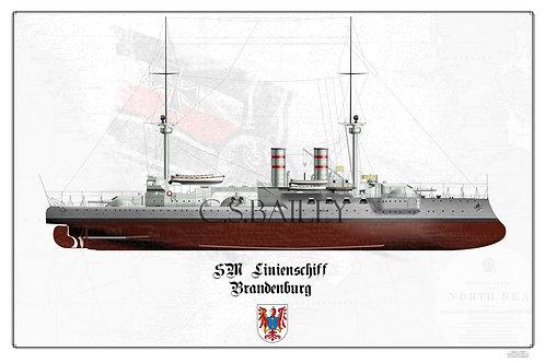 SMS Brandenburg FH Print