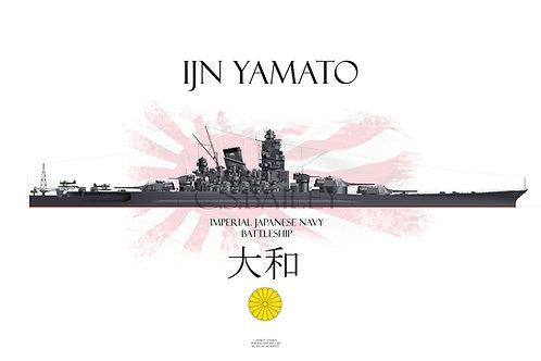IJN Yamato WL t-shirt