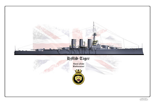 HMS Tiger Print