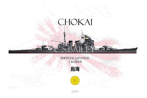 IJN Chokai WL t-shirt
