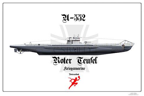 U-552 Print