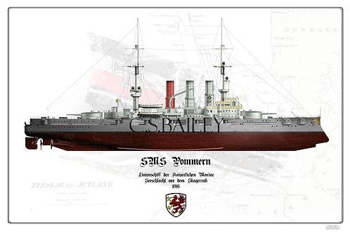 SMS Pommern FH Print