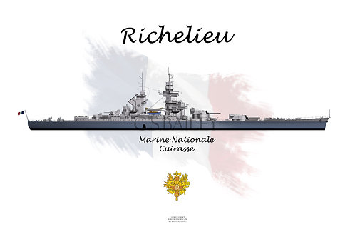 Richelieu MS 22 WL t-shirt