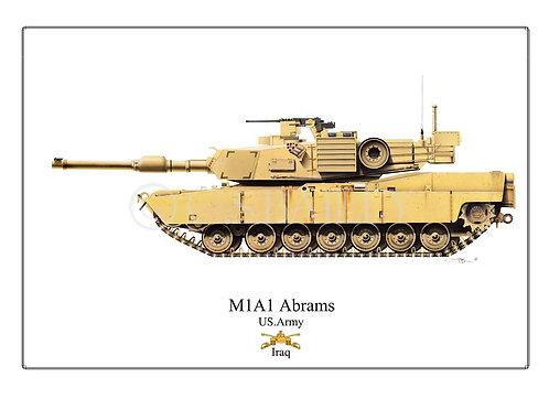 M1 A1 Abrams Army