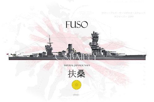 IJN Fuso WL t-shirt