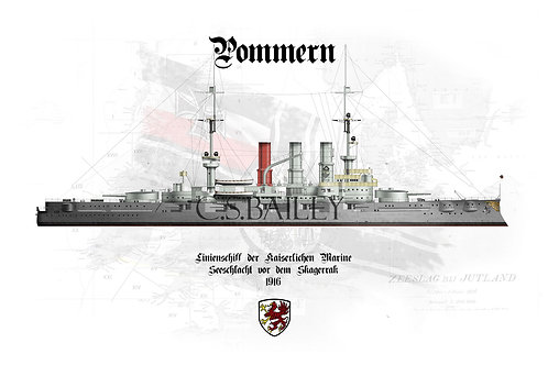 SMS Pommern WL t-shirt