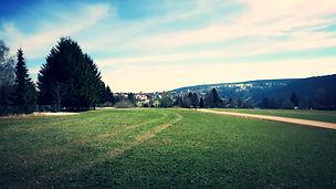Ausblick auf Freudenstadt
