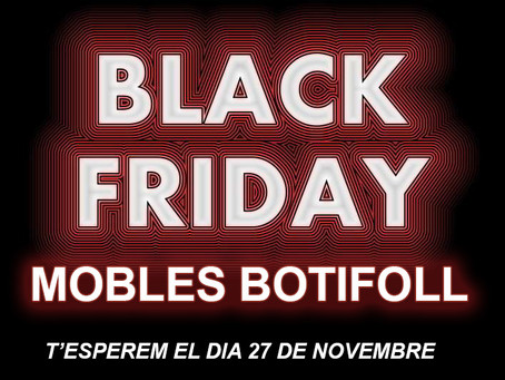 PREPARATS PEL... BLACK FRIDAY 2020!