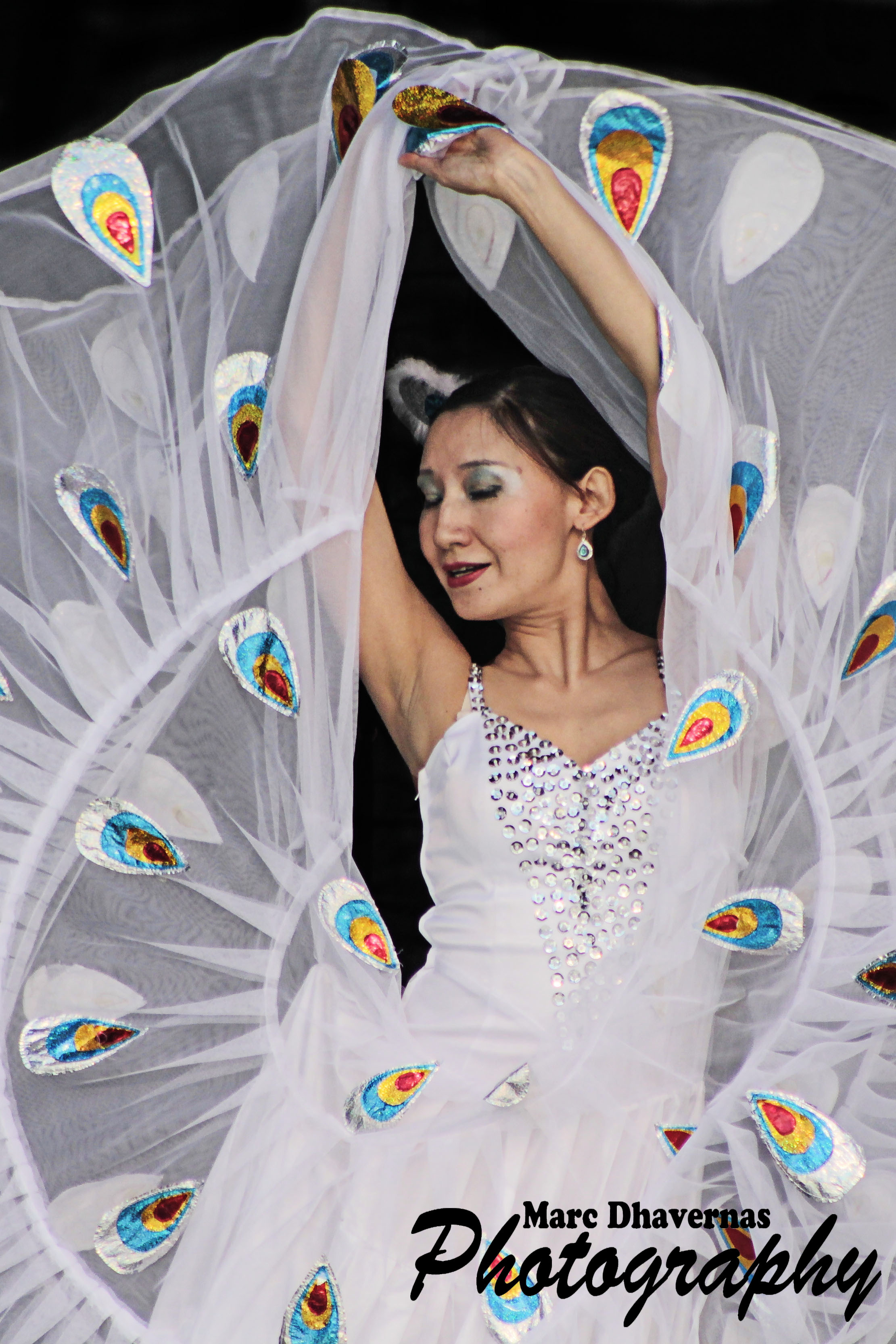 Chinese dancer at the Carnival