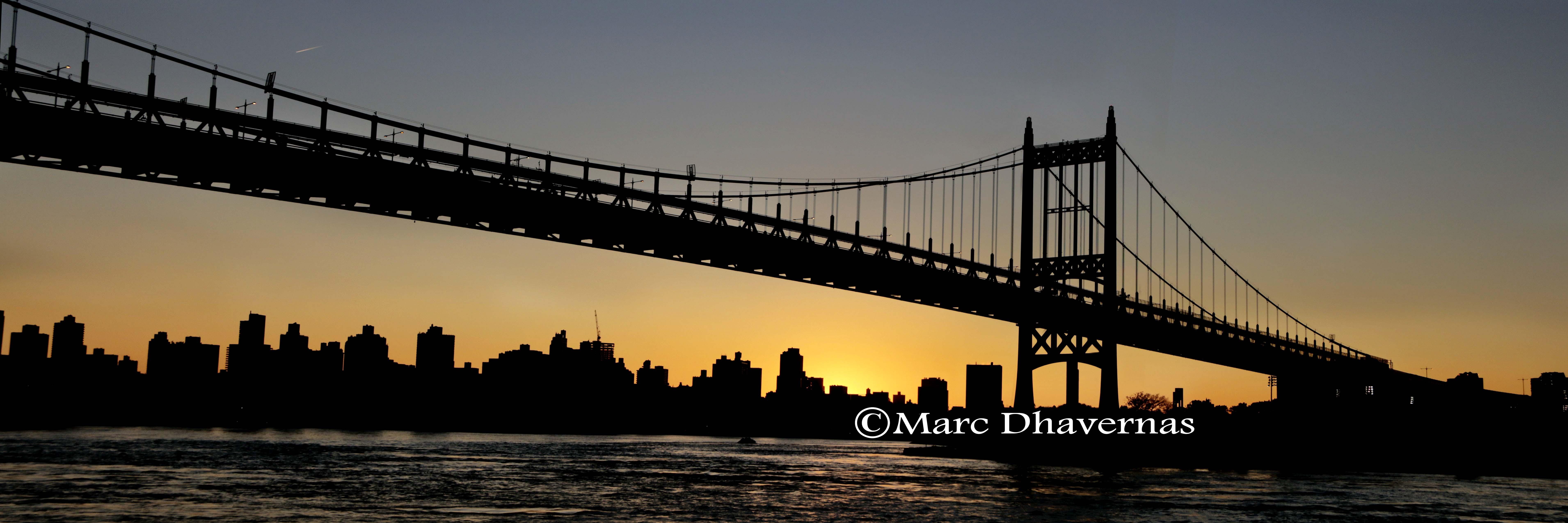 JFK bridge & Manhattan skyline