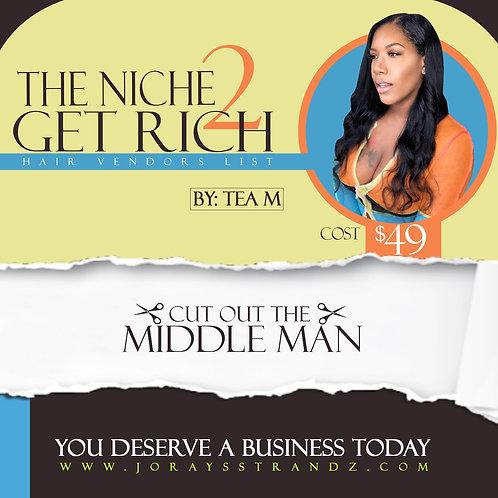 The Niche To Get Rich Hair Vendors List