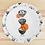 Thumbnail: Kleiner Teller mit Ramenmotiv