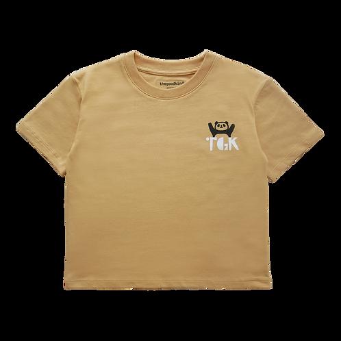Oversize T-Shirt mit Pandamotiv