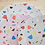 Thumbnail: Großer Teller mit Terrazzo-Muster in Weiss