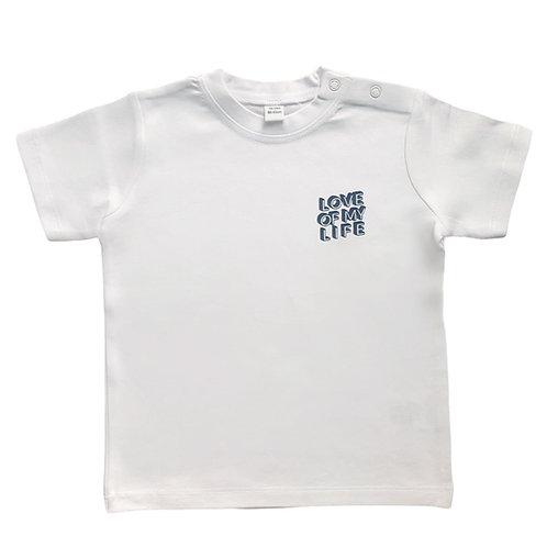 T-Shirt  LOVE OF White