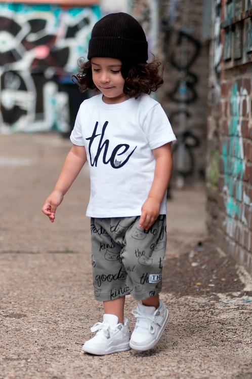 T-Shirt aus Sweat mit Schriftzug