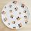 Thumbnail: Großer Teller mit Pandamuster