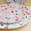 Thumbnail: Kleiner Teller mit Terrazzo-Muster in Rosa