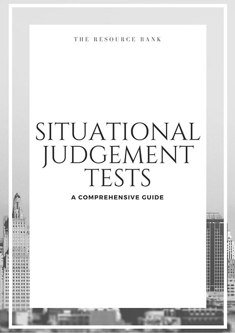 Situational Judgement Guide