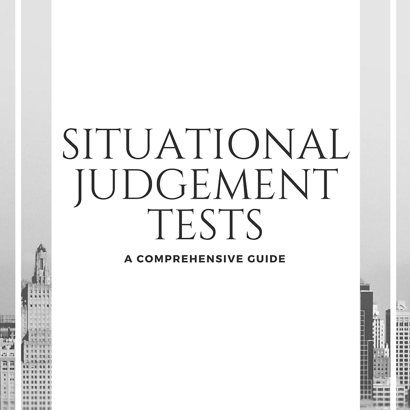 Situational Judgement Tests