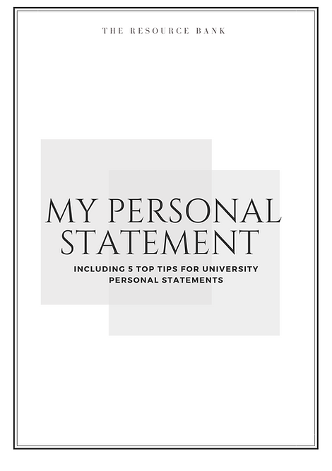Personal Statement Example + Top Tips