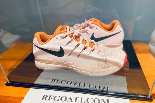 Kei Nishikori Worn Custom PE Nike Match Shoes 2019 Australian Open