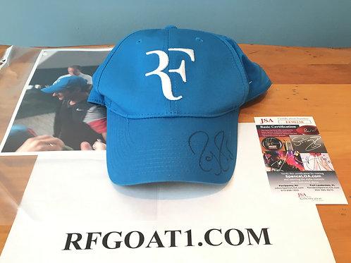 Roger Federer Worn Signed Nike RF Hat