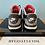 Thumbnail: Roger Federer x Michael Jordan Match Worn Signed Custom Vapor AJ3 Black Cement