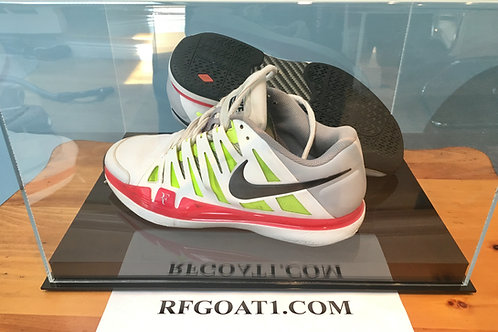 Roger Federer Worn Custom PE Original Nike Zoom Vapor 9 Tour Model