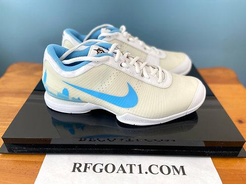 Roger Federer Custom PE Nike Zoom Vapor VI 2010 US Open Skyline Shoes